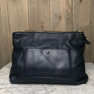 Sandro Bianca Leather Tote New